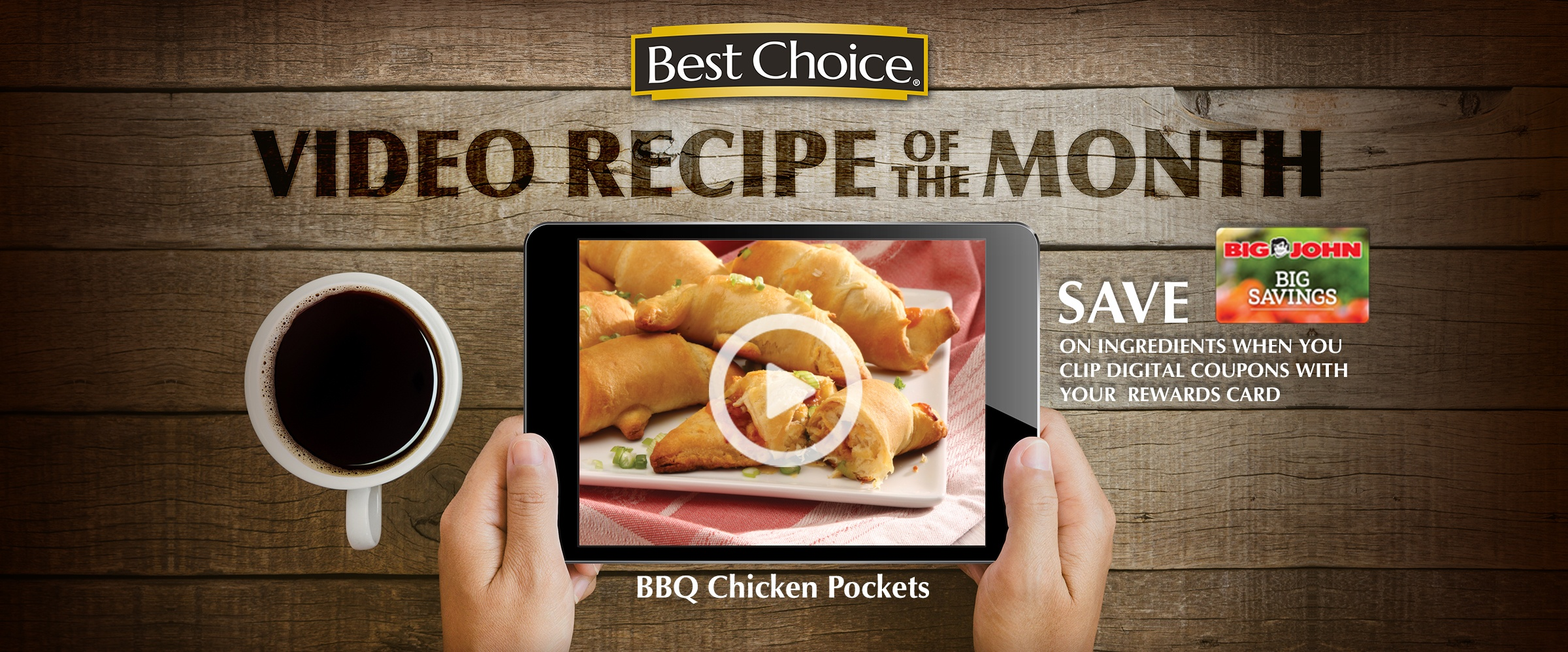 May is National BBQ Month! Celebrate with these tasty BBQ Chicken Pockets. They are super easy to bake up, so you can enjoy delicious BBQ any time. Serve as a main dish or appetizer.