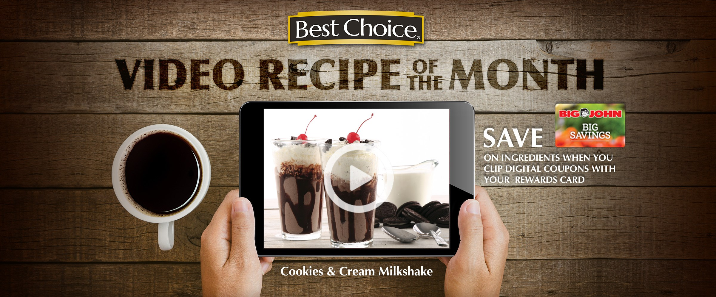 Best Choice Video of the Month: Cookies & Cream Milkshake